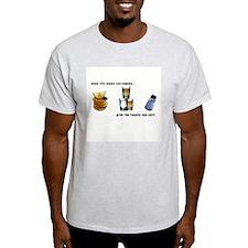 When Life... Ash Grey T-Shirt