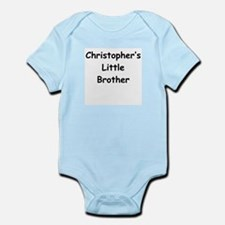 Christopher's Little Brother Baby Body Suit