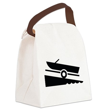 Boat Ramp Canvas Lunch Bag