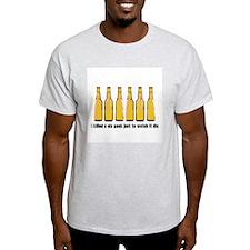 Six Pack... Ash Grey T-Shirt