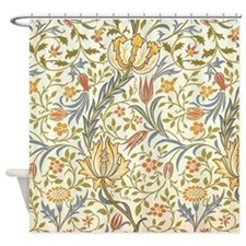 Jasmine Design Shower Curtain
