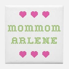 MomMom Arlene Tile Coaster