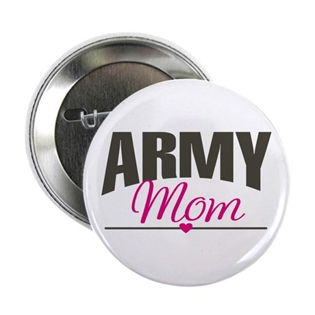 Army Mom Button