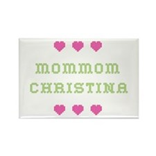 MomMom Christina Rectangle Magnet