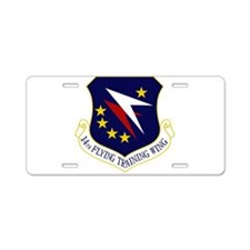 14th Flying Training Wing Aluminum License Plate