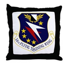 14th Flying Training Wing Throw Pillow