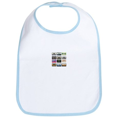 mix tape tee Bib