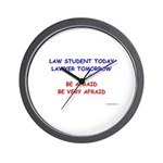 Wall Clock for Future Lawyers