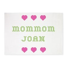 MomMom Joan 5'x7' Area Rug
