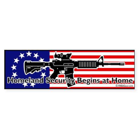 Homeland Security Begins at Home