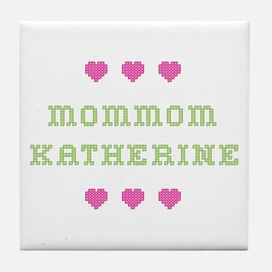 MomMom Katherine Tile Coaster