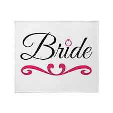 Bride Throw Blanket