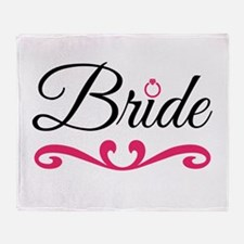 Bride Throw Blanket