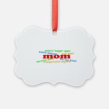 Supermom Picture Ornament