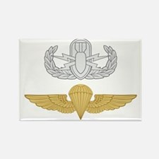 EOD Parachutist Rectangle Magnet