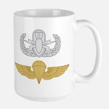EOD Parachutist Large Mug