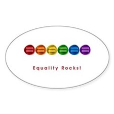 Equality Rocks Decal