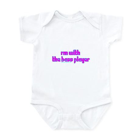 I'm W/ the Bass Player Infant Bodysuit