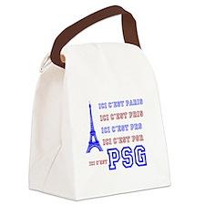 Ici cest PSG Canvas Lunch Bag