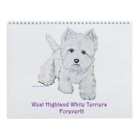 West Highland Wall Calendar