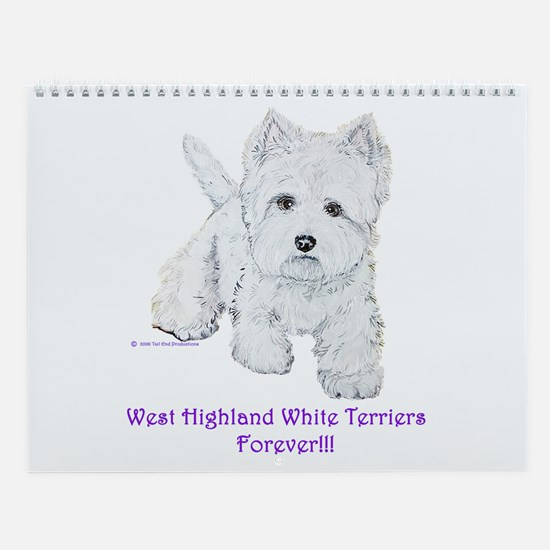 West Highland Wall Calendar