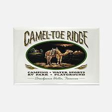 """CAMEL TOE RIDGE"" Rectangle Magnet"