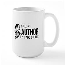Woman Instant Author Add Coffee Mug