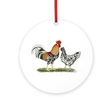 Icelandic Chickens Ornament (Round)