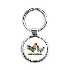 Icelandic Chickens Keychains