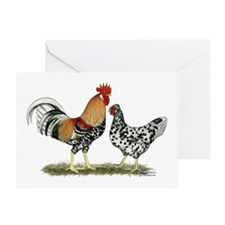 Icelandic Chickens Greeting Card
