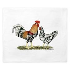 Icelandic Chickens King Duvet