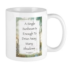 La Piazza Sunbeam Prayer by St. Francis Mug