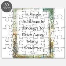 La Piazza Sunbeam Prayer by St. Francis Puzzle