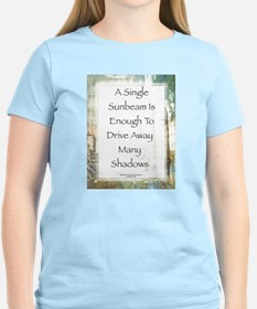 La Piazza Sunbeam Prayer by St. Francis T-Shirt