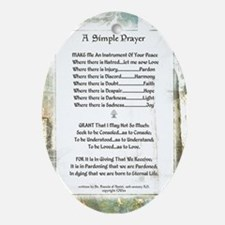 LA PIAZZA Simple Prayer for Peace by St. Francis O
