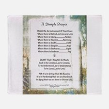 LA PIAZZA Simple Prayer for Peace by St. Francis T