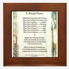 LA PIAZZA Simple Prayer for Peace by St. Francis F