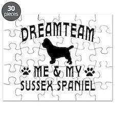 Sussex Spaniel Dog Designs Puzzle