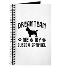 Sussex Spaniel Dog Designs Journal