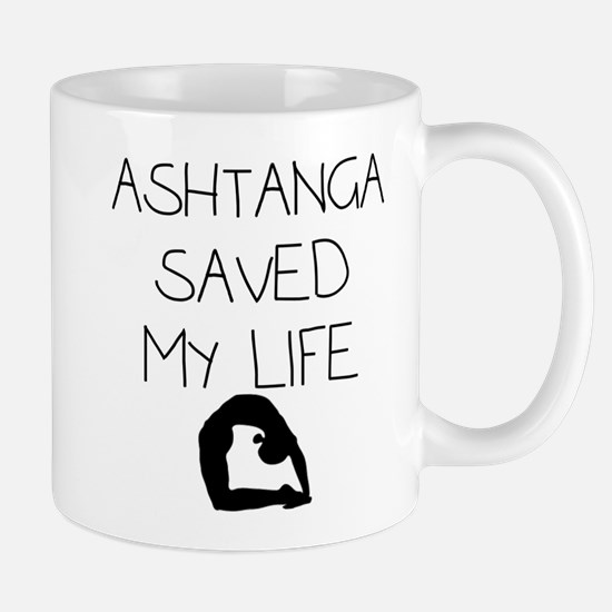Ashtange Save My Life Mug