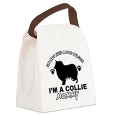 Collie dog breed designs Canvas Lunch Bag