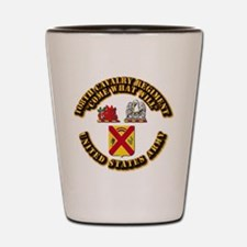 COA - 108th Cavalry Regiment Shot Glass