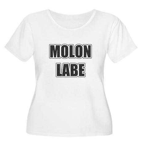 Molon Labe - Carbon Plus Size T-Shirt