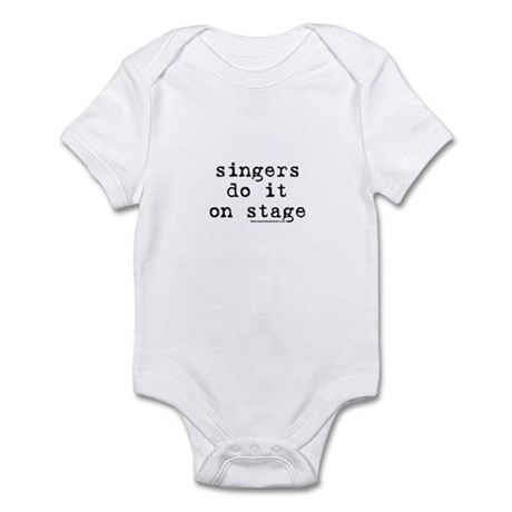 Singers Do it on Stage Infant Bodysuit