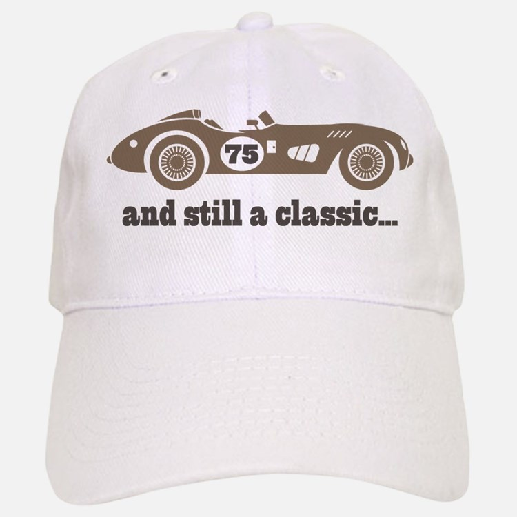 75th Birthday Classic Car Baseball Baseball Cap