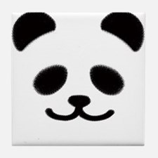 Smiley Panda Tile Coaster