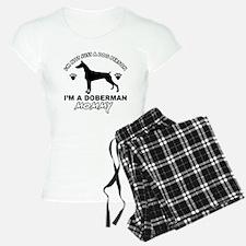 Doberman dog breed designs Pajamas