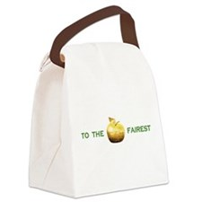 Golden Apple To The Fairest Canvas Lunch Bag
