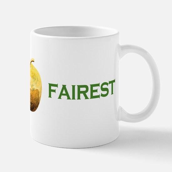 Golden Apple To The Fairest Mug
