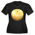 Golden Apple Kallisti Women's Plus Size V-Neck Dar